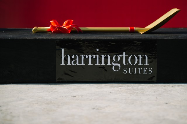Harrington Suites Topping Off Ceremony
