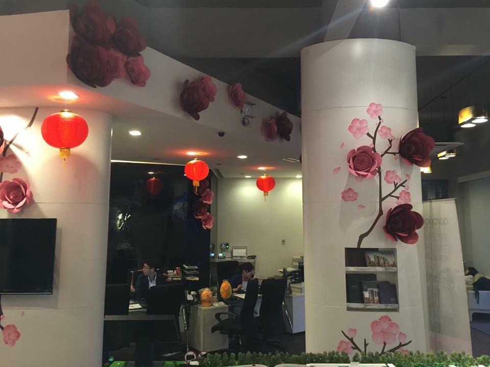 S P Setia Sales Gallery CNY Decoration